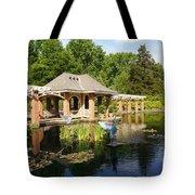 Water Garden Serenity Tote Bag