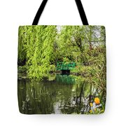 Water Garden Wonder Tote Bag