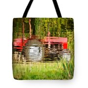 Water Gardening Tote Bag