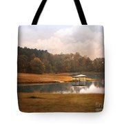 Water Gazebo Tote Bag