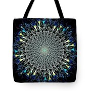 Water Glyph Tote Bag