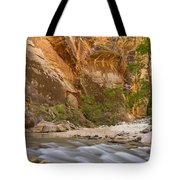 Water In The Narrows Tote Bag