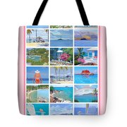 Water Island Poster Tote Bag