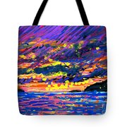 Water Island Sunset Tote Bag