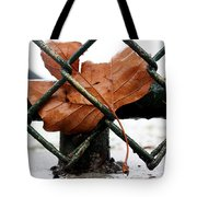 Water Leaf Tote Bag
