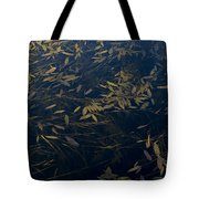 Water Leaves Tote Bag