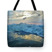Water Level Surf And Pier 11 10/18 Tote Bag