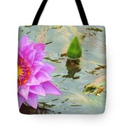 Water Lilies 001 Tote Bag