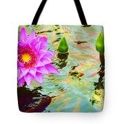 Water Lilies 002 Tote Bag