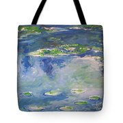 Water Lilies Giverny Tote Bag