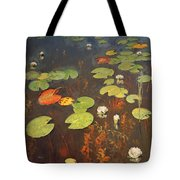 Water Lilies Tote Bag by Isaak Ilyich Levitan