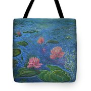 Water Lilies Lounge 2 Tote Bag
