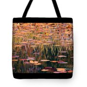 Water Lilies Re Do Tote Bag