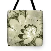 Water Lilies Spirals Tote Bag