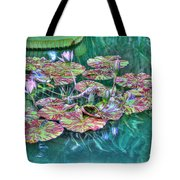 Flower 12 Tote Bag