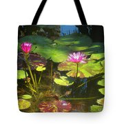 Water Lilly Garden Tote Bag