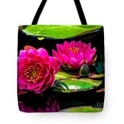 Water Lily 2014-12 Tote Bag
