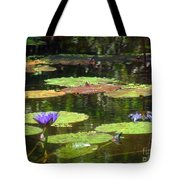 Water Lily Garden 2 Tote Bag