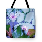 Water Lily II Tote Bag by Ann Johndro-Collins