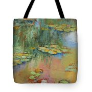 Water Lily Tote Bag