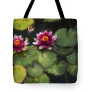 Water Lily Neo Tote Bag