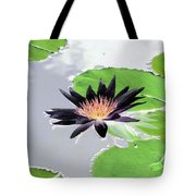 Water Lily - Purple Power - Photopower 1376 Tote Bag