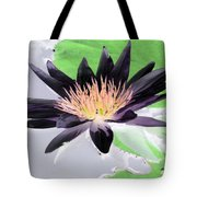 Water Lily - Purple Power - Photopower 1377 Tote Bag