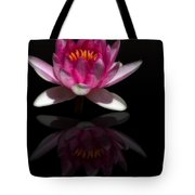 Water Lily Reflection Tote Bag