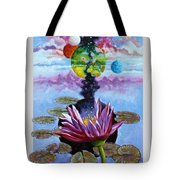 Water Lily Seeds Tote Bag