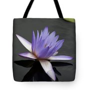 Water Lily Teri Dunn Tote Bag