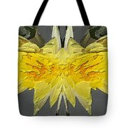 Water Lily Unleashed 4 Tote Bag by Tim Allen
