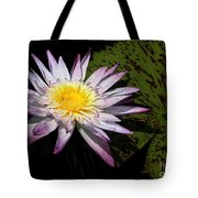 Water Lily With Lots Of Petals Tote Bag