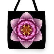 Water Lily X Flower Mandala Tote Bag