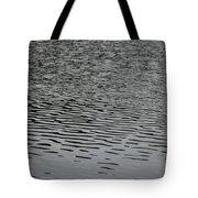 Water Lines Tote Bag