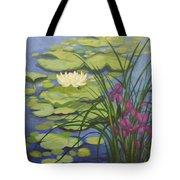 Water Lotus Tote Bag