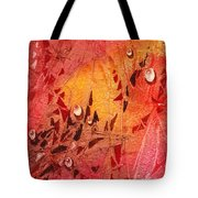 Water On Color Design Seven Tote Bag