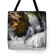 Water On The Rocks 2 Tote Bag