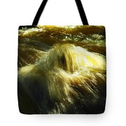 Water  Over Rock Tote Bag