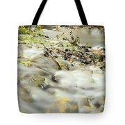Water Over The Dike Tote Bag