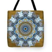 Water Patterns Kaleidoscope Tote Bag