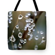 Water Pearls Tote Bag