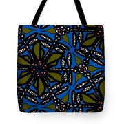 Water Plant And Dragonfly Tote Bag