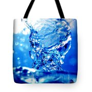 Water Refreshing Tote Bag by Michal Bednarek