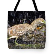 Water Runner Tote Bag
