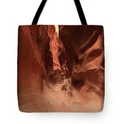 Water Sculpted Curves Tote Bag by Adam Jewell