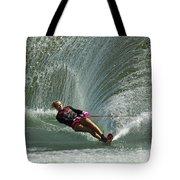 Water Skiing Magic Of Water 27 Tote Bag