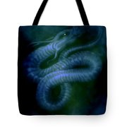 Water Snake Of The Abyss Tote Bag