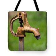 Water Spicket Or Spigot Tote Bag