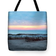 Water Sunset Tote Bag