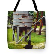 Water Tank Landscape Tote Bag